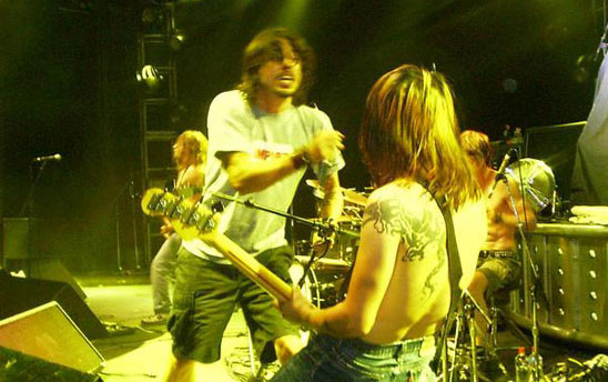 Hard-Ons and Dave Grohl