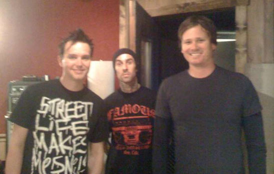Blink 182 - in the studio