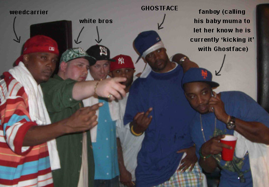 Ghostface and his boys